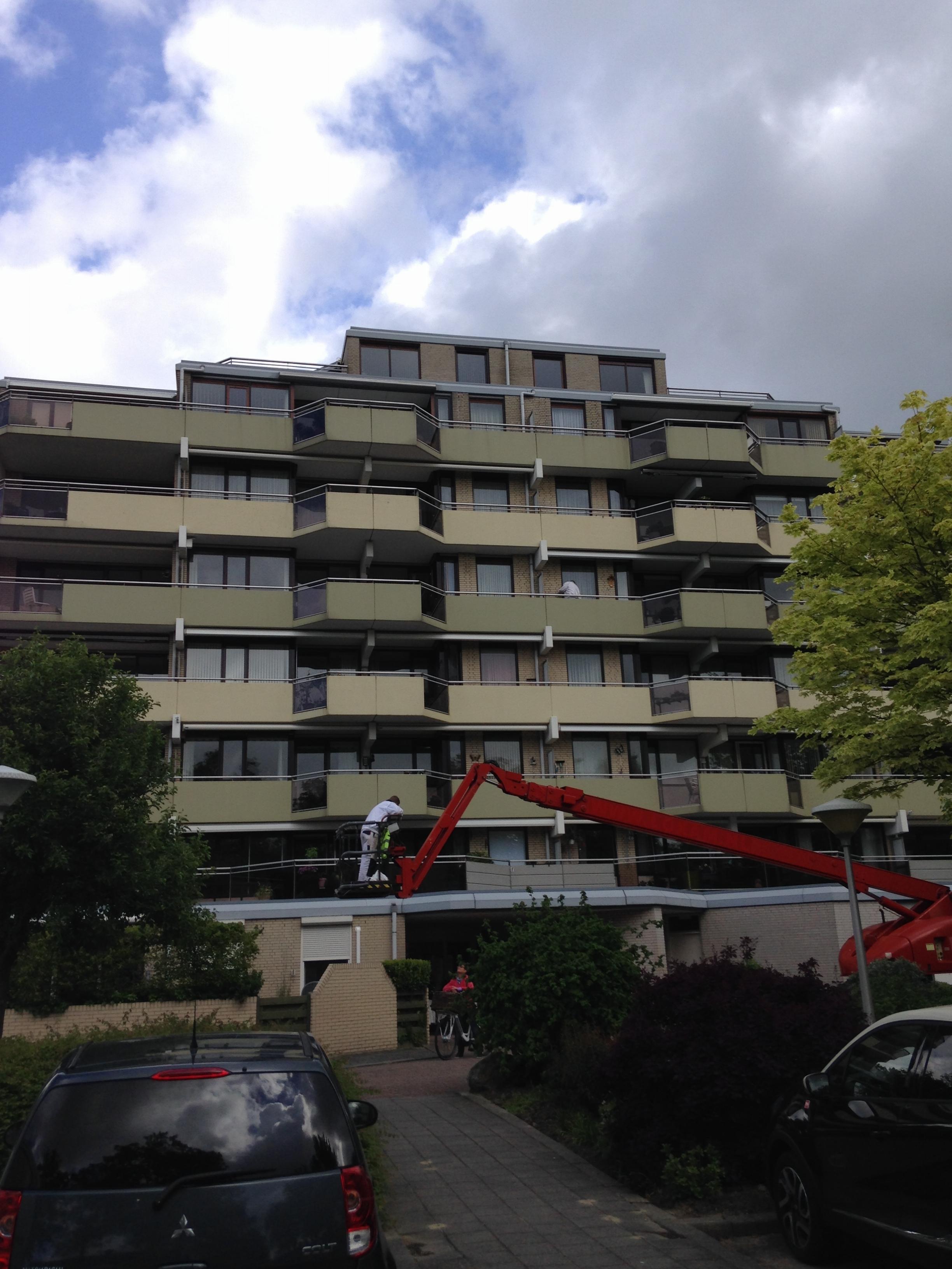 Schilderwerk VvE appartementencomplex, Nieuwegein