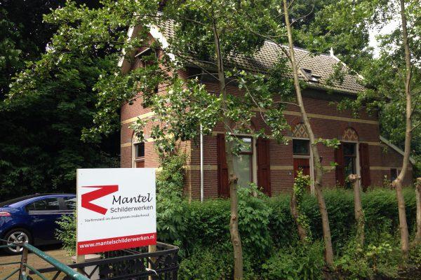 Schilderwerk monumentale Villa, Utrecht