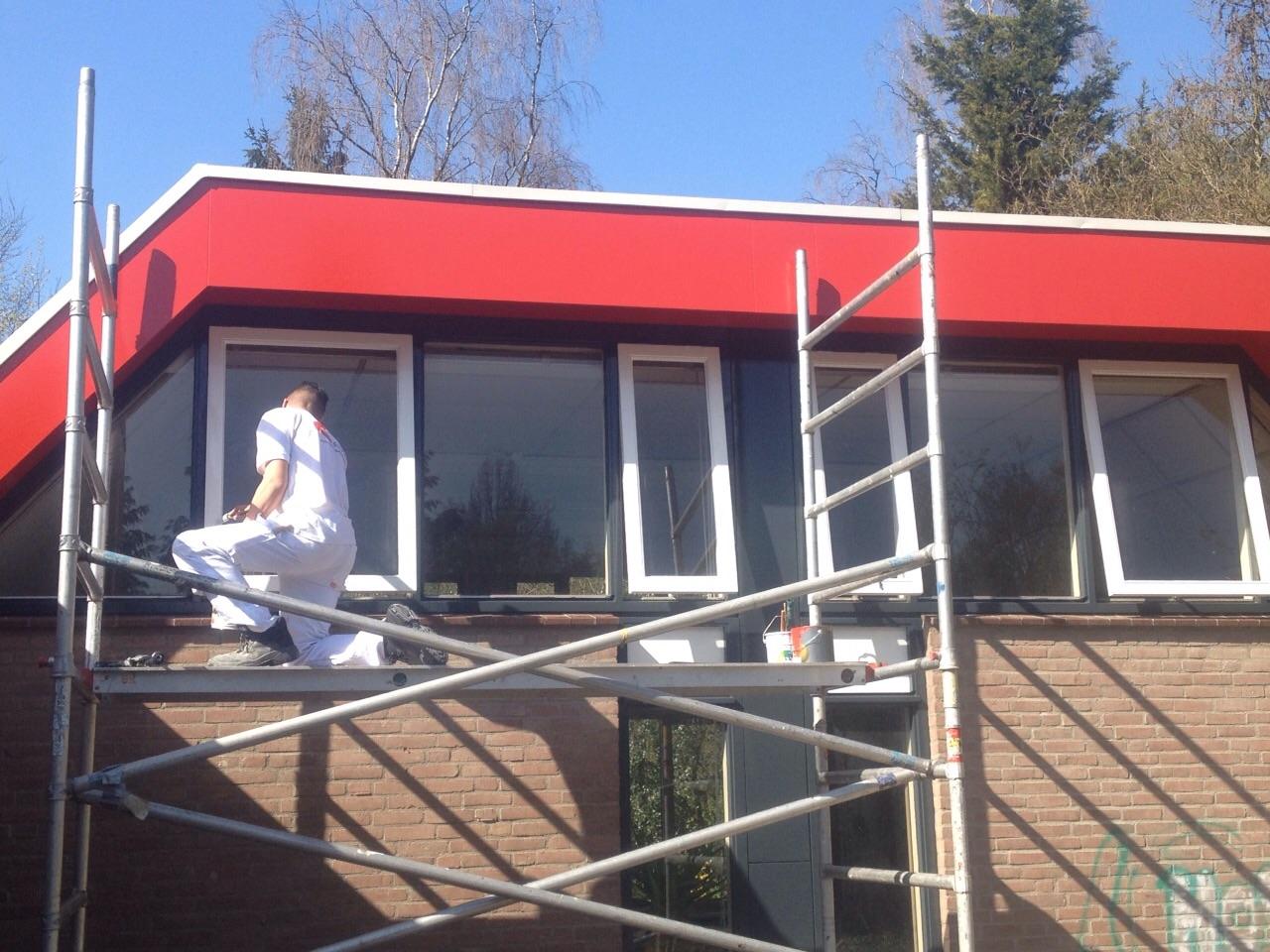 Verbouwing renovatie wijkcentrum Den Dolder