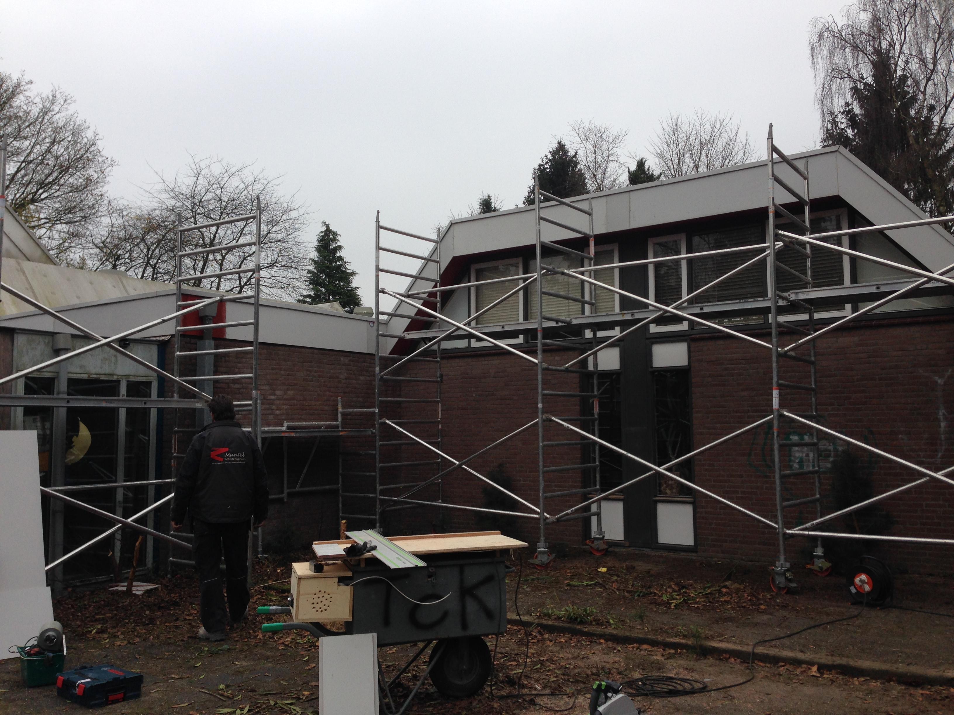 Verbouwing wijkcentrum Den Dolder